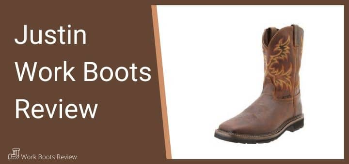 justin work boots review