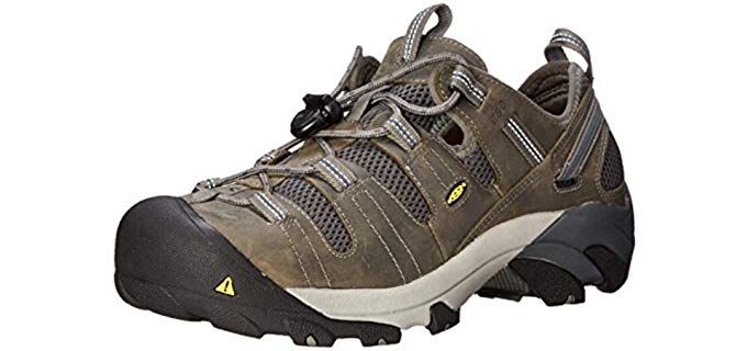 KEEN Utility Men's Atlanta Cool Work Shoes - Cooling Steel Toe Work Shoes