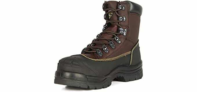 Oliver Men's 65 Series Work Boots - Slip Proof Carpenter Work Boots