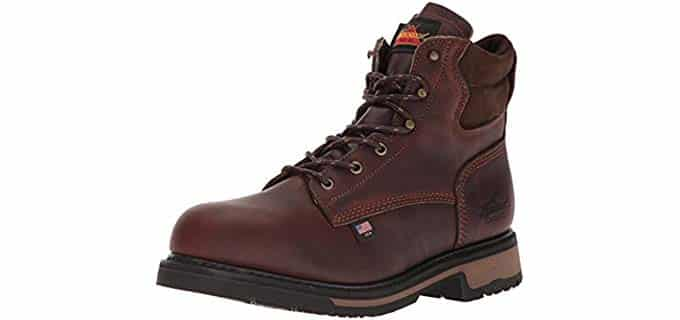 Thorogood Men's American Heritage Work Boots - Breathable Classic Anti-Sweat Work Boots