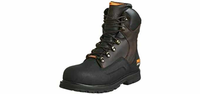 Timberland PRO Men's Pro Series Work Boot - Powerwelt Comfort Boots for Carpenters