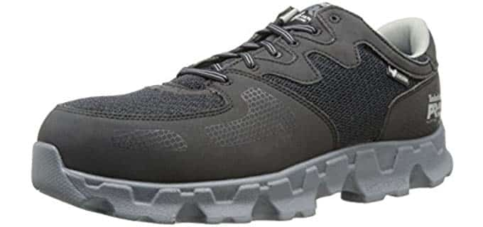 Timberland PRO Men's Powertrain Work Shoes - Athletic Safety Shoes for All Day Walking