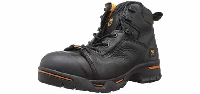Timberland PRO Men's Endurance Work Boot - Steel Toe Puncture Resistant Safety Boots