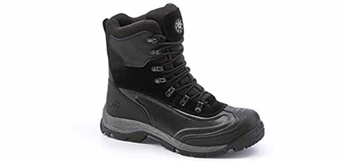 Kingshow Men's 1586 - Comfortable Insulated Work Boot
