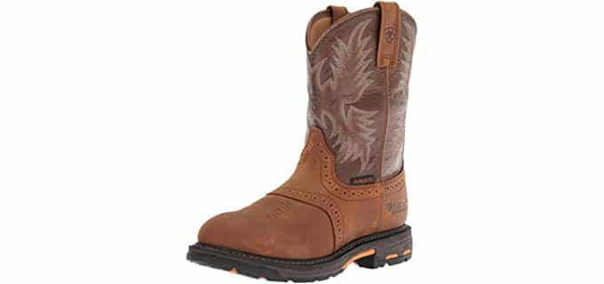 Ariat Men's Workhog - Pull On Farming and Ranching Boot