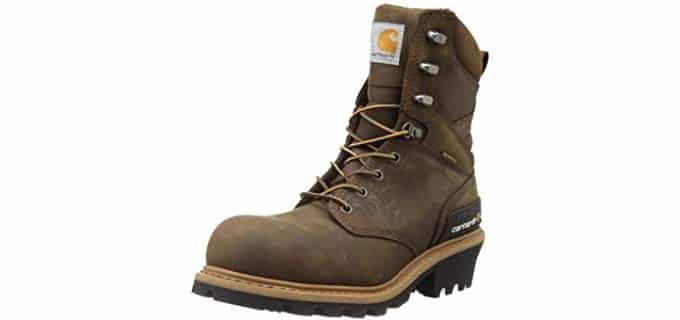 Carhartt Men's CML8360 - Comfortable Logger Work Boot