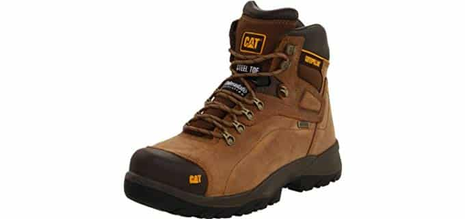 Caterpillar Men's Diagnostic - Steel Toe Achilles Support Work Boot