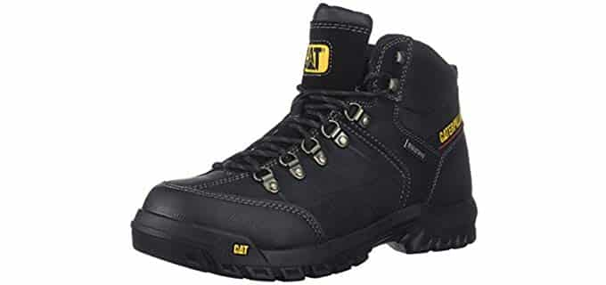 Caterpillar Men's Threshold - Tough Slip Resistant Work Boots