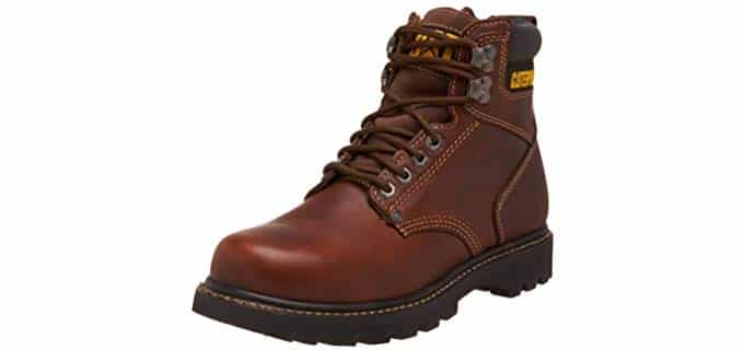 Caterpillar Men's Second Shift - Soft Toe Work Boot for Standing All day