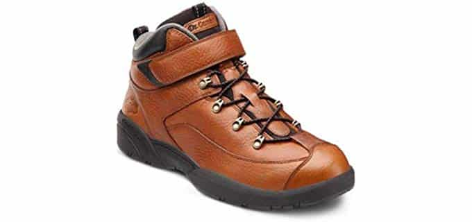 Dr. Comfort Men's Hiking Boot - Comfortable Work Boot For Arthritic Feet