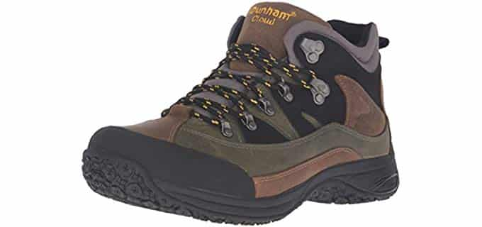 Dunham Men's Cloud - Orthopedic Waterproof Work Boots
