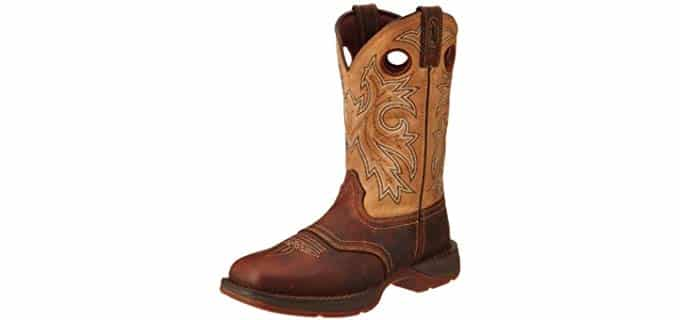 Durango Men's Rebel - Western Styled Soft Toe Work Boot