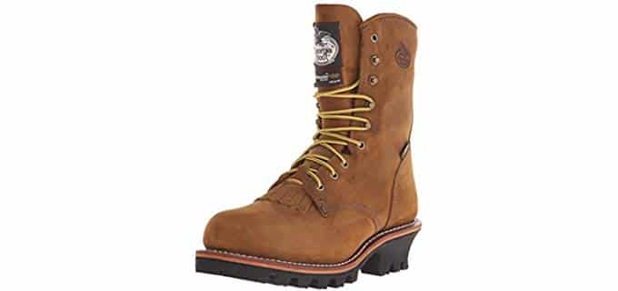 Georgia Boot Men's G9382 - Gore-Tex Lined Logging Work Boot