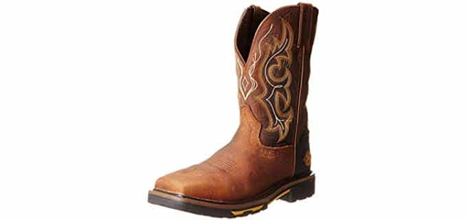 Justin Original Men's Hybred - Composite Square Toe Work Boot