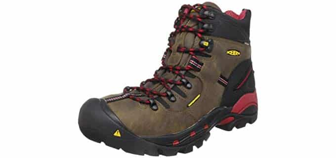 Keen Utility Men's Pittsburgh - Steel Toe Ranchers and Farmers Work Boot