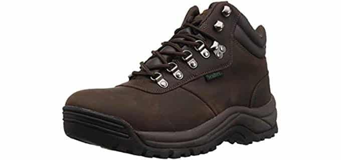Propet Men's Cliff Walker - Hiking Style Work Boot for Diabetics