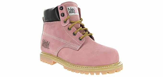Safety Girl Women's Steel Toe - Waterproof Construction Work Boots