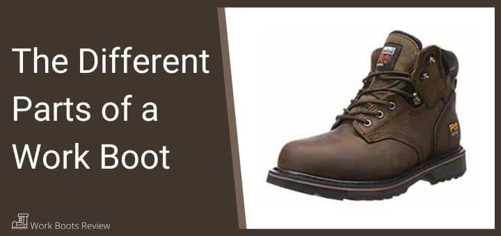 The Different Parts of a Work Boot