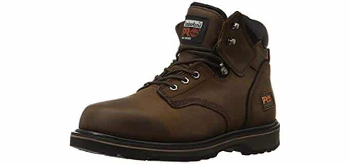 Timberland Pro Men's Pittboss - Soft Toe Work Boot For Arthritis Comfort