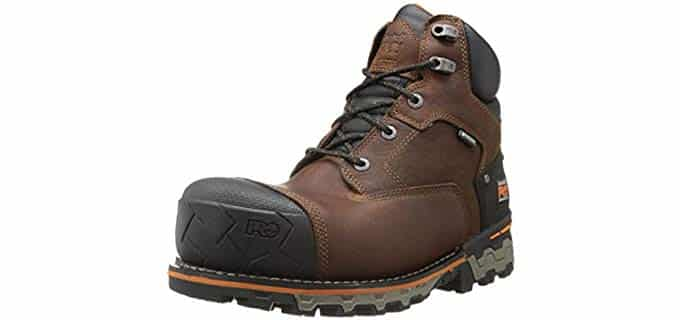 Timberland Pro Men's Boondock - Insulated Work Boot for Achilles Tendonitis