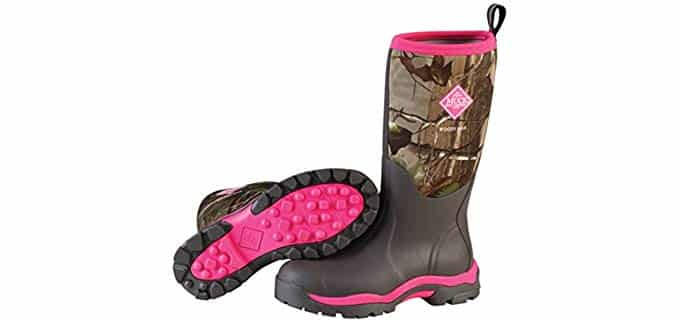 Muck Boot Women's Woody PK - Wet Terrain Cold Weather Hunting Boot