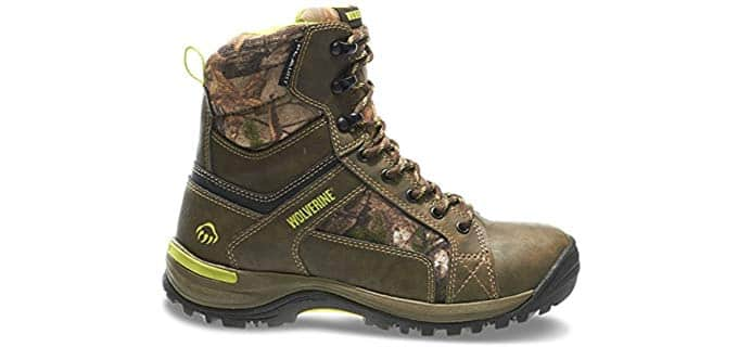 Wolverine Women's Sightline - Hiking Style Hunting Boot for Cold Weather