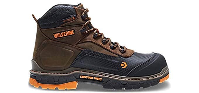 Wolverine Men's Overpass - Composite Toe Work Boot for Hot Weather