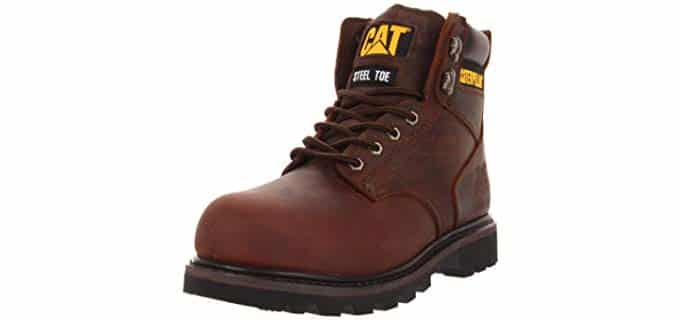 Caterpillar Men's Second Shift - Steel Toe Metatarsalgia Work Boot