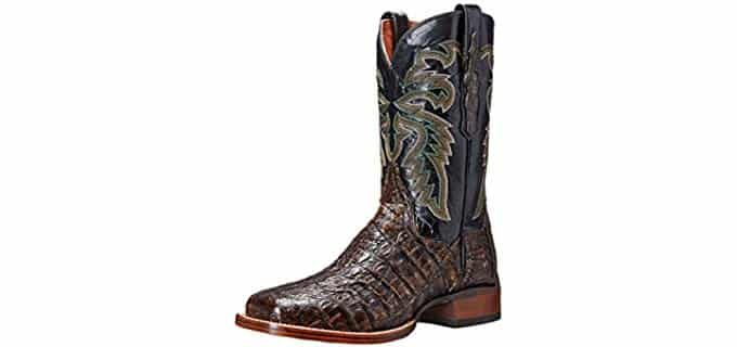 Dan Post Men's Everglades - Full Grain Caiman Leather Western Boots