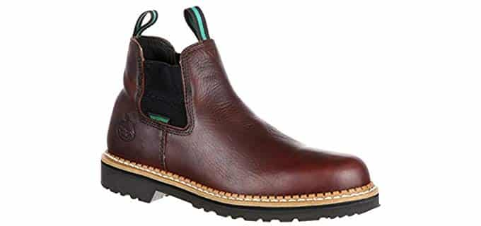 Georgia Men's Giant - HVAC Ankle Slip on Work Boot