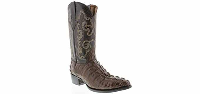 Handmade Men's Western - Crocodile Aligator Work Boot