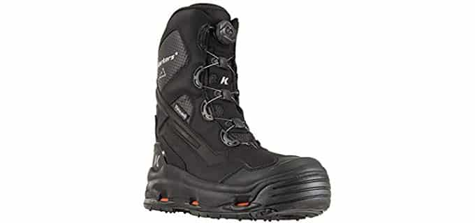 Korkers Men's Polar Vortex - Insulated BOA Lace Work Boots