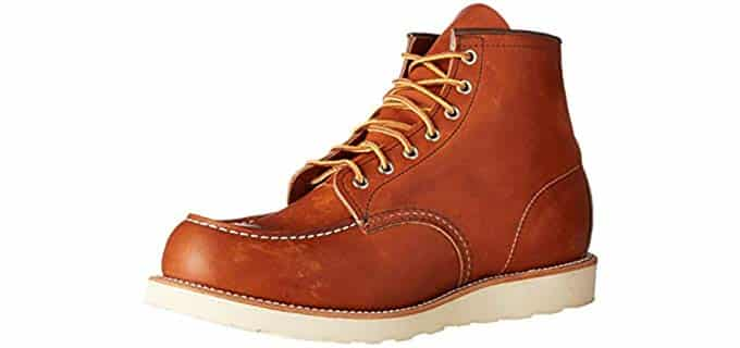 Redwing Men's Classic - Crepe Wedge Sole Moc Toe Work Boot