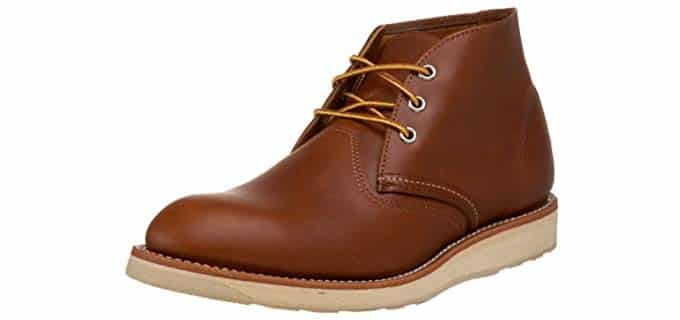 Redwing Men's Heritage - Durable Leather Chukka Work Boot