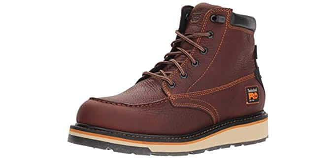 Timberland Pro Men's Gridworks - Waterproof Boot for Sore Feet