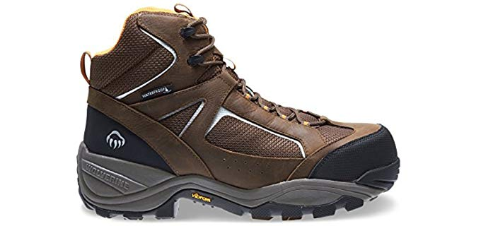 Wolverine Men's Quest - Puncture Resistant Hospital Work Boot