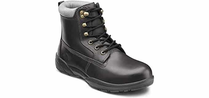 Dr. Comfort Men's Protector - Therapeutic Steel Toe Diabetic Work Boot