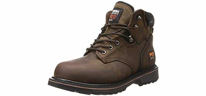 Timberland Pro Men's Pitboss 6 - Wide and Standard Fit Steel Toe Work Boot