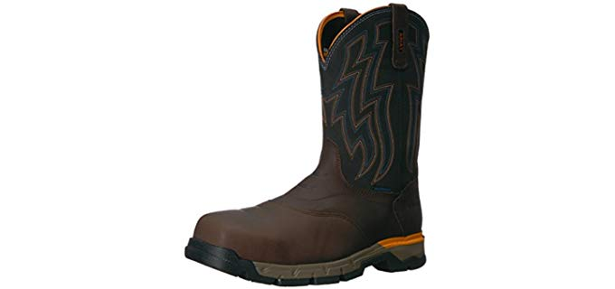 Ariat Men's Rebar Flex - Composite Toe Boot for Standing All Day
