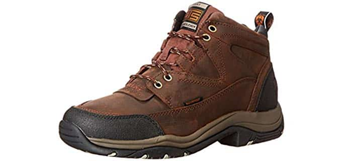 Ariat Men's Terrain - Moisture Wicking Work Boot for Hot Weather