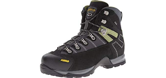 Asolo Men's Fugitive - High Traction Work Boot with Vibram Outsole