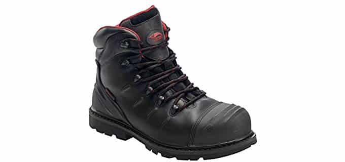 Avenger Men's Carbon Nanofiber - Slip resistant Puncture Proof Work Boot