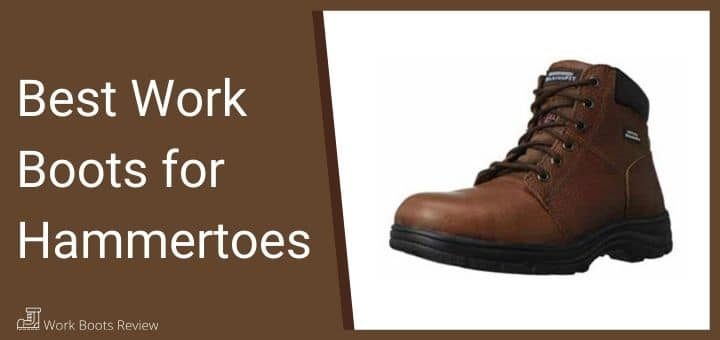 work boots for hammertoes