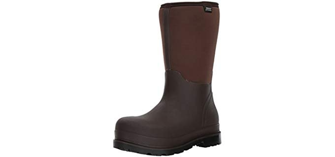 Bogs Men's Stockman - Waterproof Vegan Work Boot
