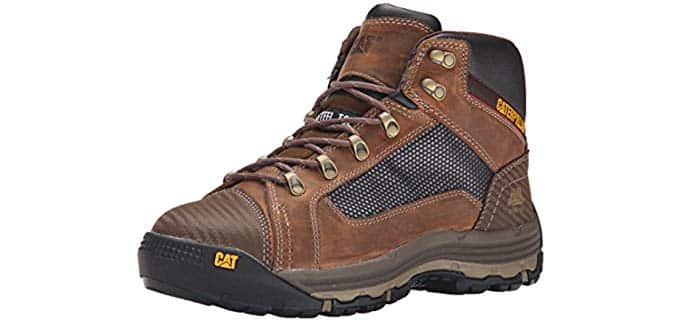 Caterpillar Men's Convex - Mid Height Breathable Steel toe Work Boot