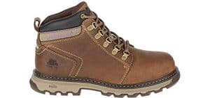 Caterpillar Women's Ellie - Steel Toe Work Boots for Bunions and Corns