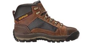 Caterpillar Men's Convex Mid Steel Toe Work Boot, Dark Beige, 9.5 M US 6 of 6