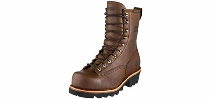 Chippewa Men's Bay Apache - Logger Boot with Vibram Sole