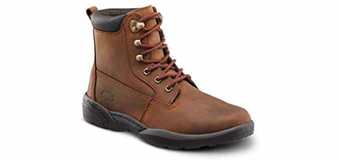 Dr. Comfort Men's Boss - Orthopedic Sore Feet Work Boot