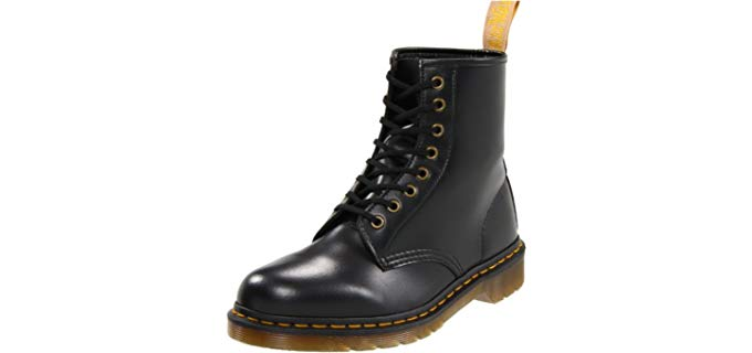 Dr. Martens Men's Combat - Vegan leather Work Boot